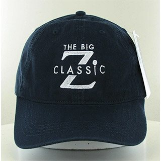 Golf cap with Big Z Classic logo